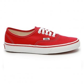 Vans Authentic красные