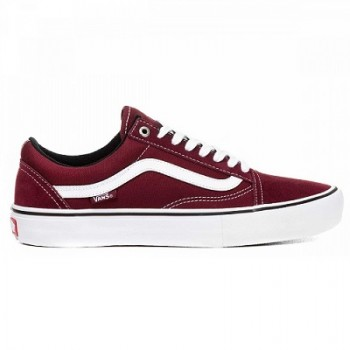 Vans Old Skool бордовые